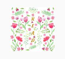 Read Floral Unisex T-Shirt