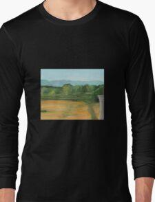 Bennington, pond view Long Sleeve T-Shirt
