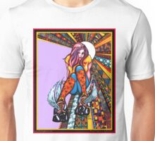 """Derby Darlin"" by Katie Calico Unisex T-Shirt"