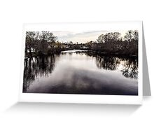 Water front view Greeting Card