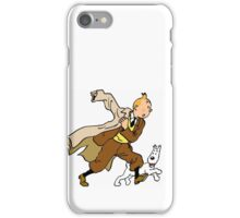 tintin / milou / snowy  iPhone Case/Skin