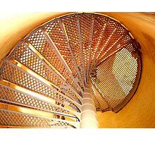 Lighthouse steps ^ Photographic Print