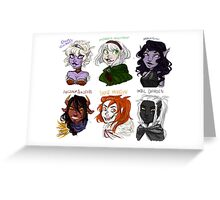 Dungeons and Dragons Children Greeting Card