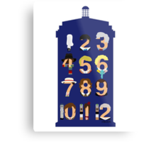The Number Who Metal Print