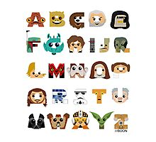 ABC3PO Photographic Print