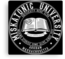 Miskatonic University Book Club Canvas Print