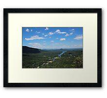 North Carolina Mountains Framed Print