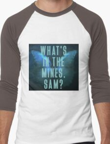What's in the mines, Sam? - Until Dawn Men's Baseball ¾ T-Shirt