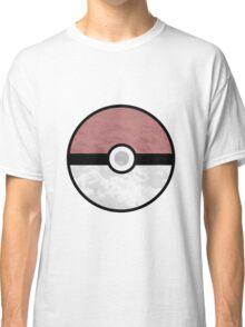 Pokemon Pokeball Clouds Classic T-Shirt