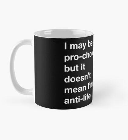 Pro-Choice Mug - Black Mug