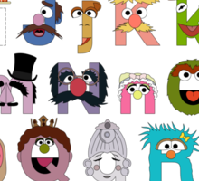 Sesame Street Alphabet Sticker