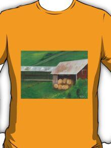 Vermont, red barn T-Shirt