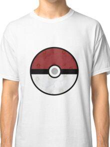 Pokemon Pokeball Flower Classic T-Shirt