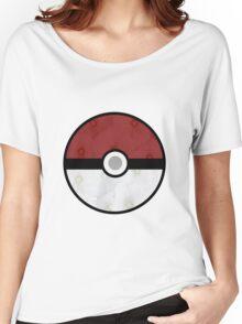 Pokemon Pokeball Flower Women's Relaxed Fit T-Shirt