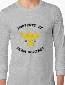 Property of Team Instinct Long Sleeve T-Shirt