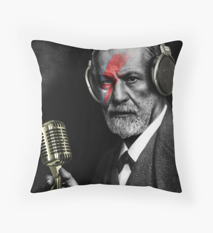 Pop Freud Throw Pillow