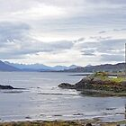 Panorama of Eilean Donan Castle and Loch by Stephen Frost