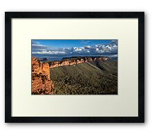 Narrowneck Lookout Framed Print