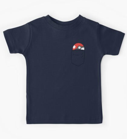 POKEBALL POCKET Kids Tee