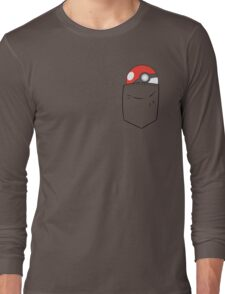 POKEBALL POCKET Long Sleeve T-Shirt