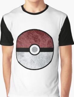 Pokemon Pokeball Water Graphic T-Shirt