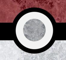 Pokemon Pokeball Water Sticker