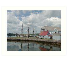 Pictou Harbour Art Print