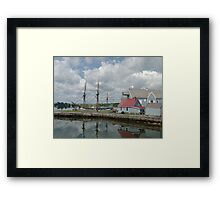 Pictou Harbour Framed Print