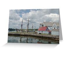 Pictou Harbour Greeting Card