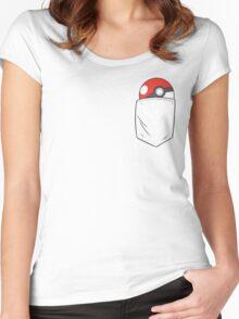 TEAM INSTINCT POCKET Women's Fitted Scoop T-Shirt