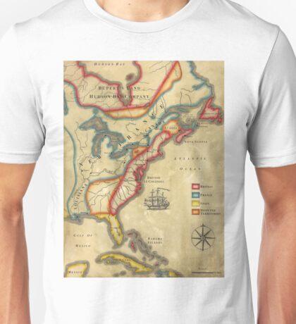 North America 1755 Unisex T-Shirt