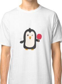 Penguin table tennis   Classic T-Shirt
