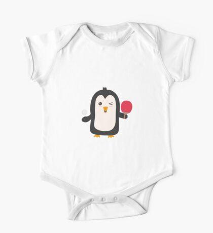 Penguin table tennis   One Piece - Short Sleeve