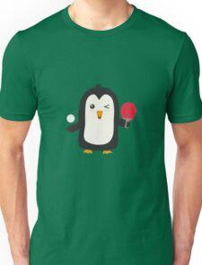 Penguin table tennis   Unisex T-Shirt