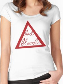 Bad Blood Women's Fitted Scoop T-Shirt