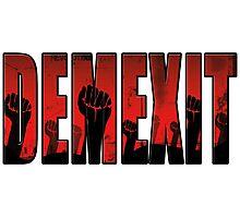 demexit revolution Photographic Print