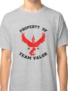 Property of Team Valor Classic T-Shirt