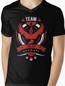 Team Valor Mens V-Neck T-Shirt