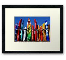 Splash of colour Framed Print