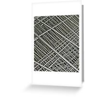 grid Greeting Card
