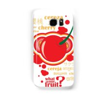 FruitHeads - cherry Samsung Galaxy Case/Skin