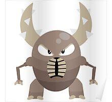 #127 Pinsir - Segmented Bug Type Pokemon Poster