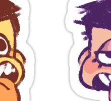 gross boys Sticker