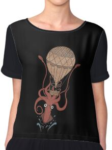 Around the World in 20,000 Leagues Chiffon Top