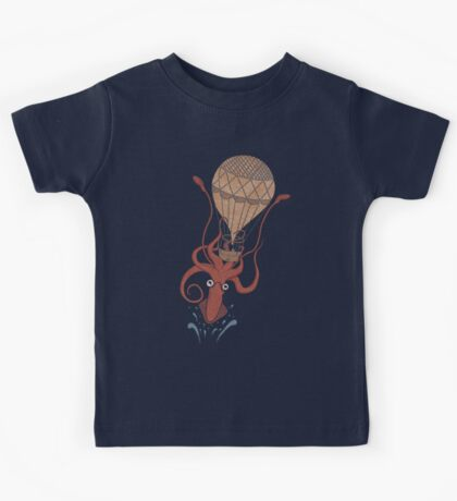 Around the World in 20,000 Leagues Kids Tee