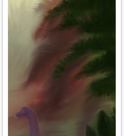Sauropod Jungle Sticker