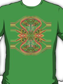 Ribbons and Yarn ~ a Tangled Design T-Shirt