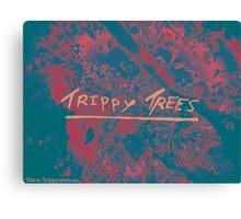 TrippyTrees design 1 Canvas Print