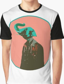 elephant hipster Graphic T-Shirt