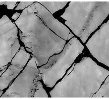 cracked Photographic Print
